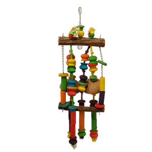 Wood and Rope Toys